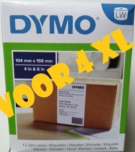 Dymo pakket etiket 104x159mm 0904980