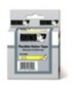 Rhino Nylon tape Geel 19mm flexible. 18491